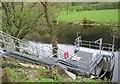 SN7079 : River gauge, Afon Rheidol by Rudi Winter