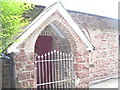 SN1312 : St Catherine';s Church, Princes Gate - porch by welshbabe
