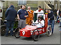 H4572 : 9th Avenue Pizzeria soapbox, Omagh by Kenneth  Allen