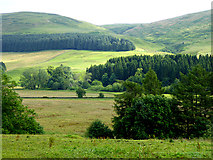 NY3090 : View over Eskdale from Nether Knock by Oliver Dixon
