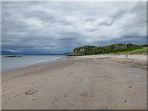 NM8632 : Ganavan Sands by John Allan