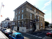 SY6878 : Grade II listed former hotel on a Weymouth corner by Jaggery