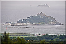 SW5129 : Cornwall : St Michael's Mount by Lewis Clarke