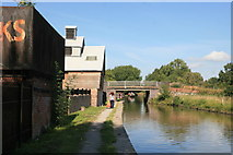 SJ6775 : Trent & Mersey Canal at Marston by Chris Allen
