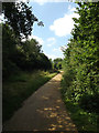 TL0753 : Bridleway to Ravensden Road by Adrian Cable