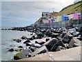 TG1643 : Sheringham Sea Shore Looking East by David Dixon