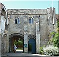 SU8504 : Chichester Cathedral Gatehouse by Rob Farrow