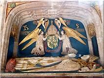 SU8504 : Chichester Cathedral - Tomb of Bishop Robert Sherburne by Rob Farrow