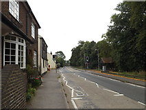 TL1614 : B653 Lower Luton Road. Wheathampstead by Adrian Cable