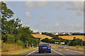 SW8449 : Cornwall : The A39 by Lewis Clarke
