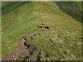 NH0313 : Bealach between Sgùrr a' Bhealaich Dheirg and Aonach Meadhoin by John Allan