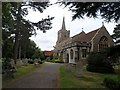 TL8518 : St Mary's church, Kelvedon by Bikeboy