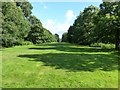 SJ7387 : Distant glimpse of Dunham Massey Hall by Dave Dunford