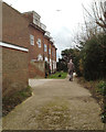 TV4898 : The Crouch, Crouch Lane, Seaford by Robin Stott
