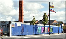 "J3273 : The ""Monarch"" site, Donegall Road, Belfast (August 2015) by Albert Bridge"