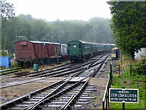 TR2548 : Rolling stock at the East Kent Railway, Shepherdswell by John Lucas