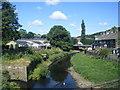SE0125 : River Calder from New Road bridge, Mytholmroyd by Colin Pyle
