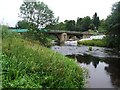 NU0501 : The B6342 crosses the River Coquet by Tim Glover
