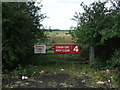 TL1736 : Crash Exit No.4, Henlow Airfield by JThomas