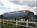TL1898 : 1970s experimental hovertrain at Railworld, Peterborough by Paul Bryan