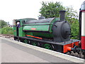 TL1898 : Saddle tank engine at Peterborough Nene Valley station by Paul Bryan