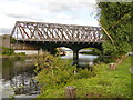 TL1998 : Railway bridge over the River Nene, Peterborough by Paul Bryan