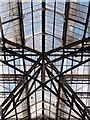 TQ3381 : Liverpool Street Station: roof structure by Julian Osley