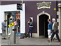 H4572 : Busking in Omagh by Kenneth  Allen