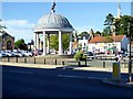 TF8108 : Swaffham Market Place, Market Cross by David Dixon