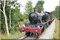 SJ0843 : Locomotive 5199 leaving Dwyrain Corwen East by Jeff Buck