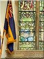 TF8208 : Swaffham Parish Church War Memorial Window: Zeebrugge by David Dixon