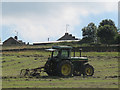 SE1030 : Tractor at Queensland Farm by Stephen Craven