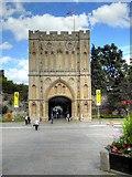 TL8564 : Bury St Edmunds, The Abbey Gate by David Dixon