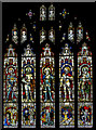 TF3287 : Stained glass window, St James' church, Louth by Julian P Guffogg