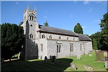 TF7928 : Houghton church by Philip Halling