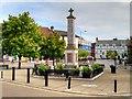 TF8109 : The War Memorial, Swaffham by David Dixon