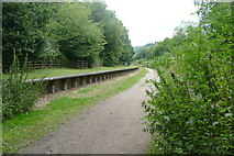 SK0642 : Former Alton Towers railway station by Graham Hogg