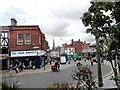 NZ2814 : Looking down Tubwell Street, Darlington by Robert Graham