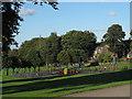 SE2435 : Bramley Park: playground by Stephen Craven