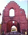 NO6441 : Gatehouse, Arbroath Abbey by Stanley Howe