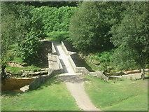SK1695 : Bridge over the River Derwent at Slippery Stones by John Slater