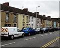 SN5601 : On-street parking in Bridge Street, Llangennech by Jaggery