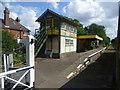 TG0010 : Yaxham station, Mid Norfolk Railway by Marathon