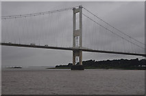 ST5590 : South Gloucestershire : The Severn Bridge by Lewis Clarke