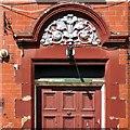 SJ9498 : The Swan: Doorway detail by Gerald England