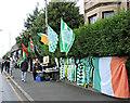 NS6263 : Glasgow Celtic souvenir stall by Thomas Nugent