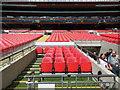 TQ1985 : Dug-out - Wembley Stadium by Paul Gillett