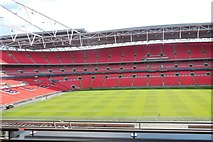 TQ1985 : View from Royal Box, Wembley by Paul Gillett