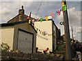 SE0721 : Bunting for the Tour de France, Rochdale Road by Stephen Craven