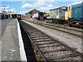 TF9912 : Old carriages at Dereham station by Marathon
